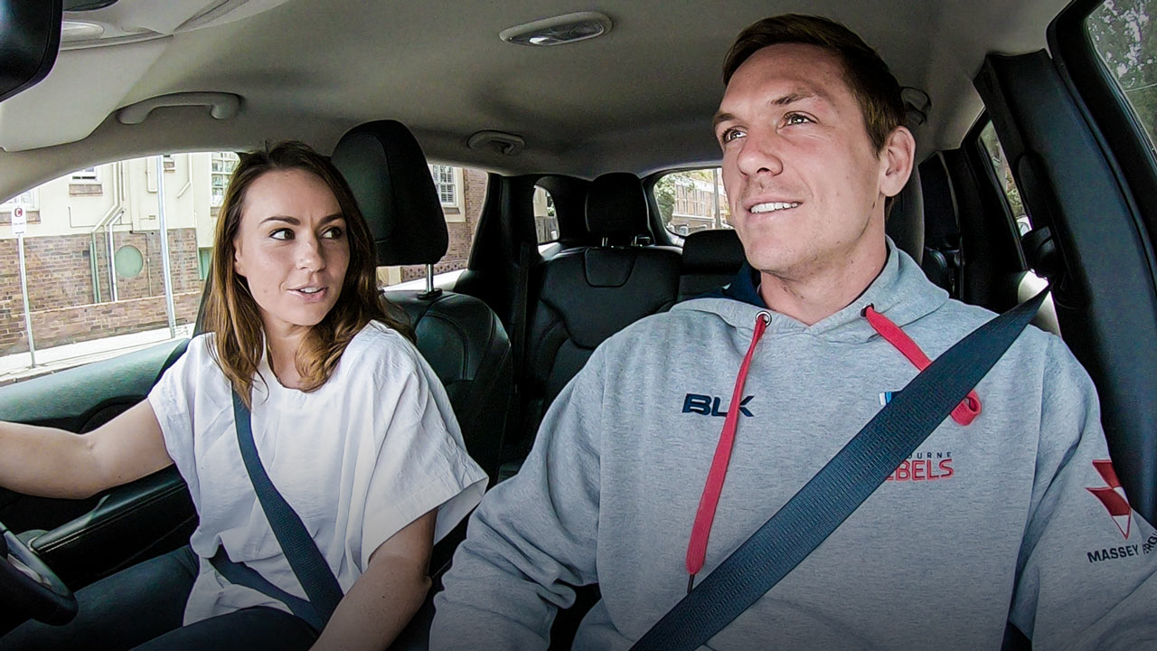 Dane Haylett-Petty - Training Run - PlayersVoice