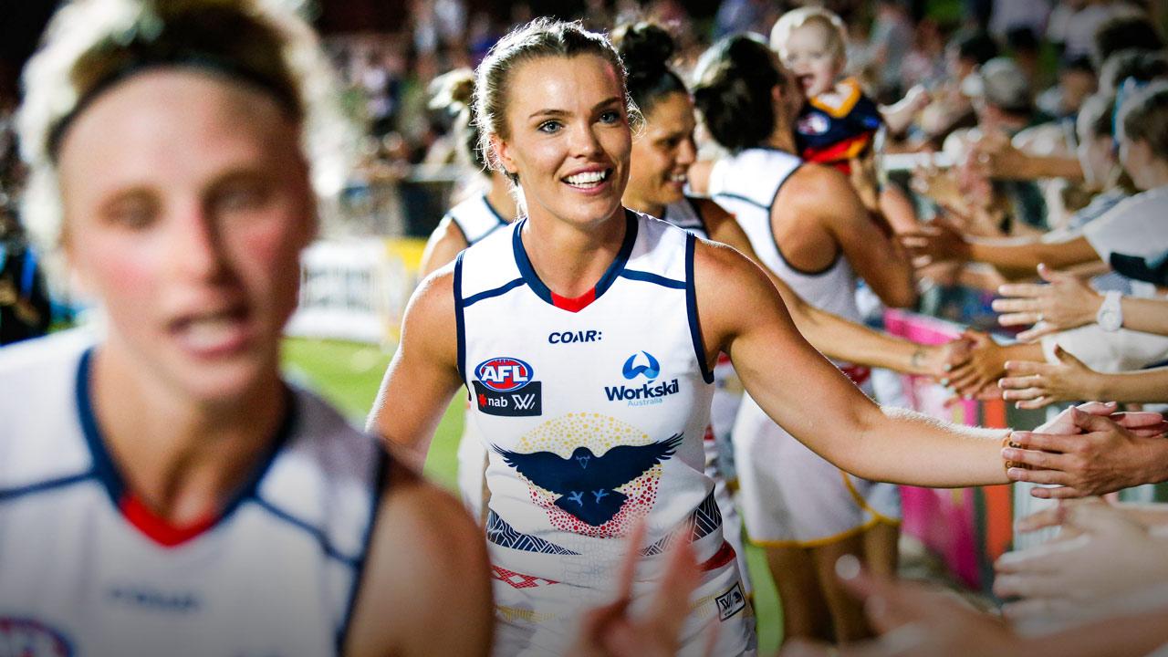 Abbey Holmes - AFLW - AthletesVoice