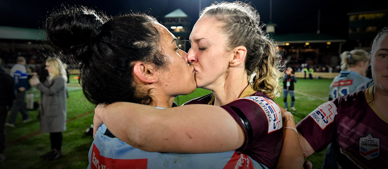 Karina Brown & Vanessa Foliaki - NRL - AthletesVoice