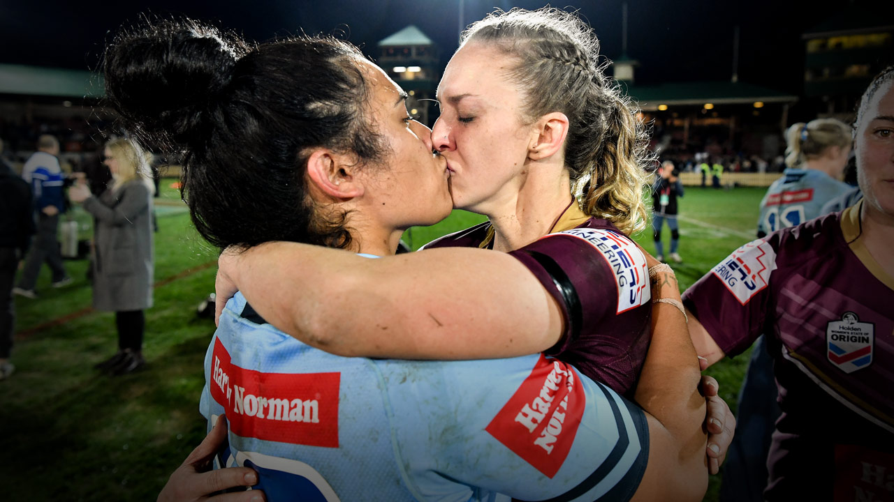 Karina Brown & Vanessa Foliaki - NRL - PlayersVoice