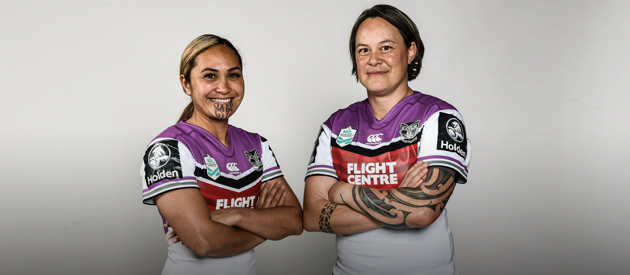 Hilda & Laura Mariu - NRL Women's - AthletesVoice