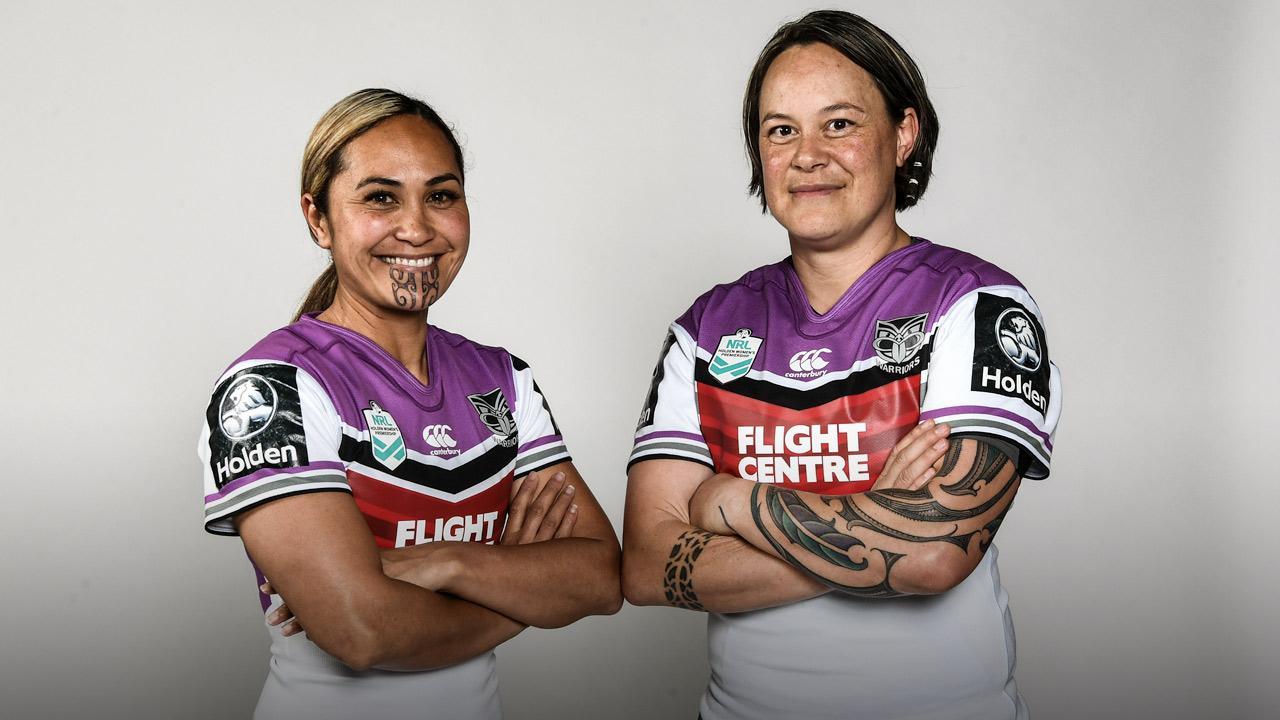 Hilda & Laura Mariu - NRL Women's - PlayersVoice