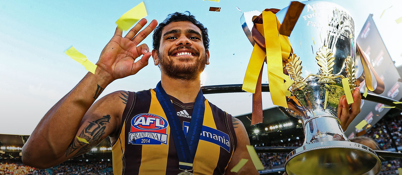 Cyril Rioli - AFL - AthletesVoice