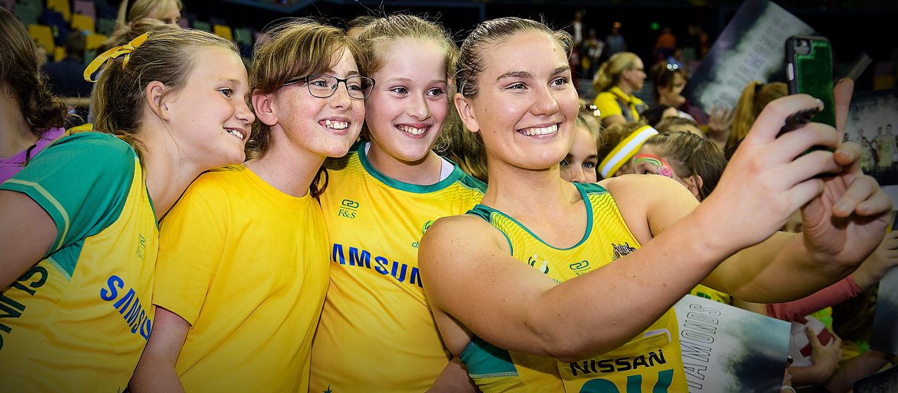 Courtney Bruce - Netball - AthletesVoice