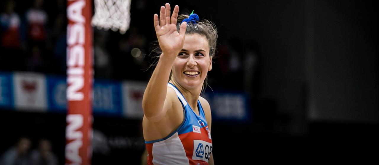 Maddy Proud - Netball - AthletesVoice