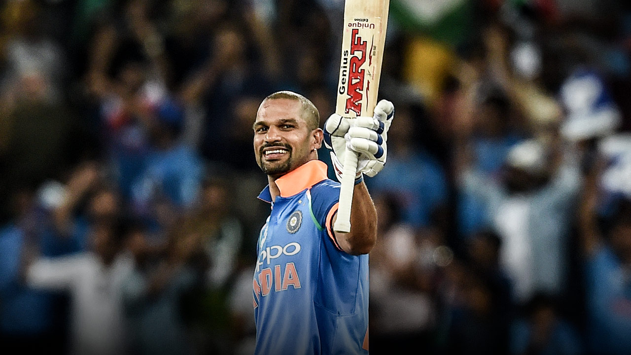 Shikhar Dhawan - Cricket - PlayersVoice