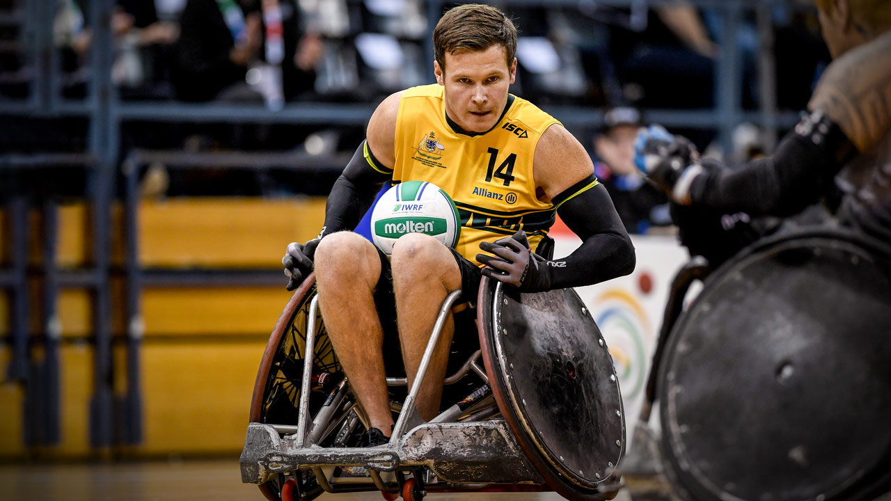 Andrew Edmondson - Para Sports - PlayersVoice