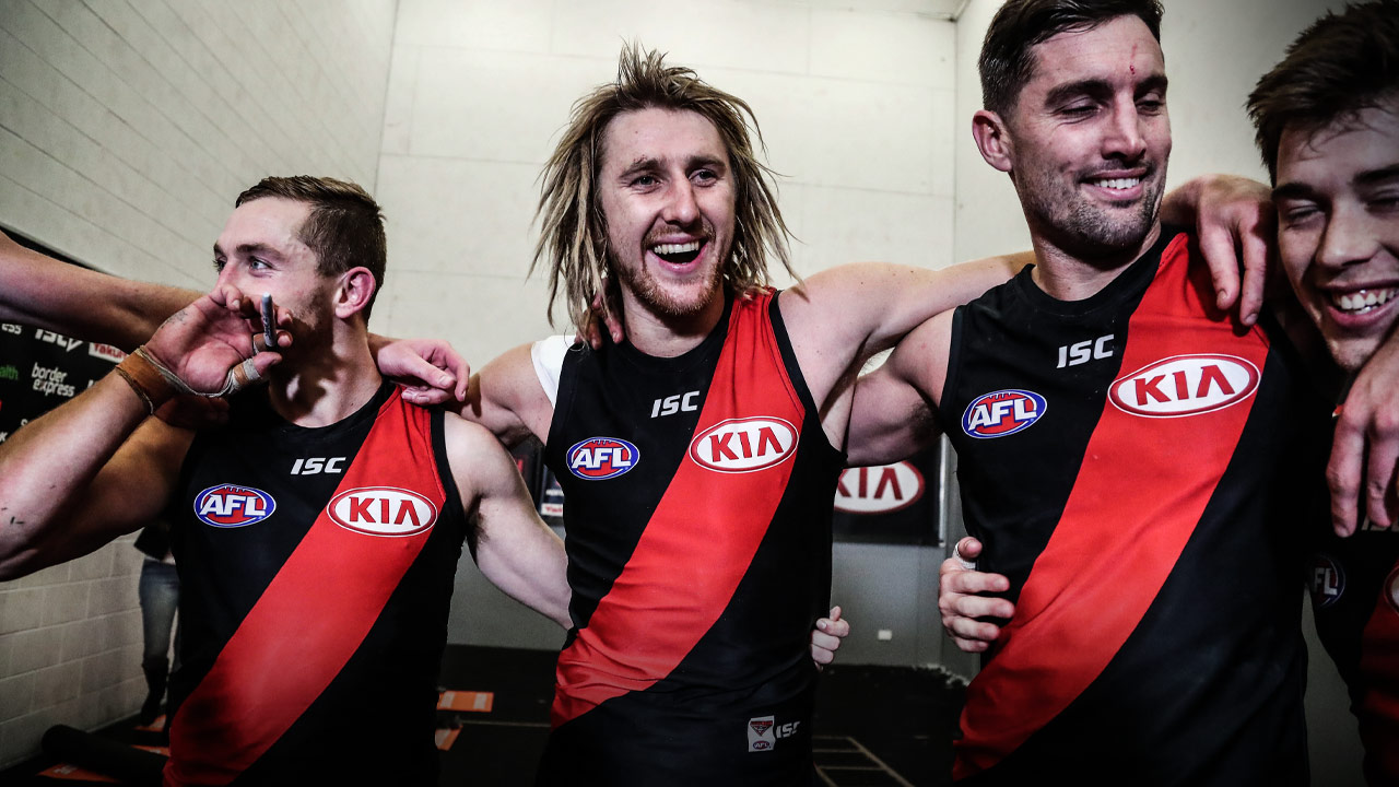 Dyson Heppell - AFL - PlayersVoice