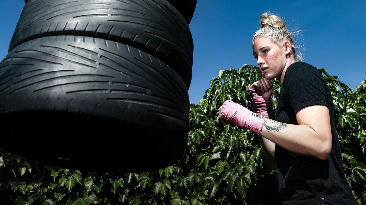 Tayla Harris - Boxing - PlayersVoice