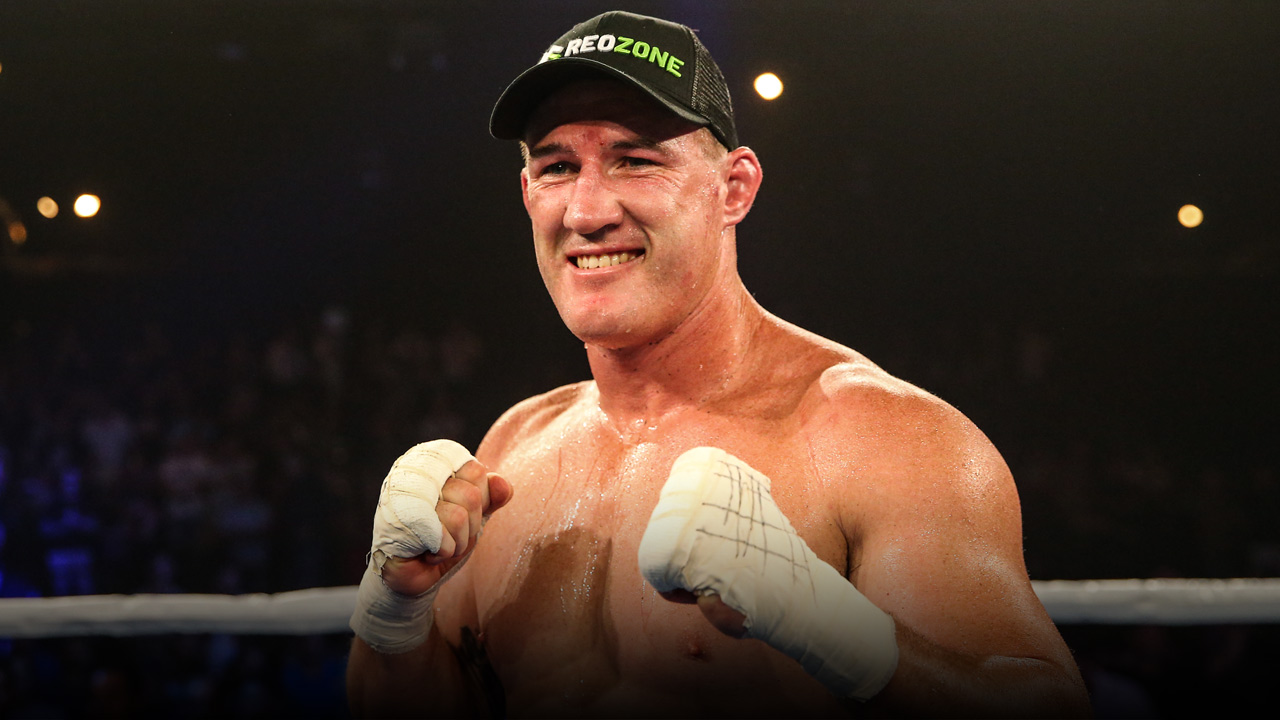Paul Gallen - Boxing - PlayersVoice