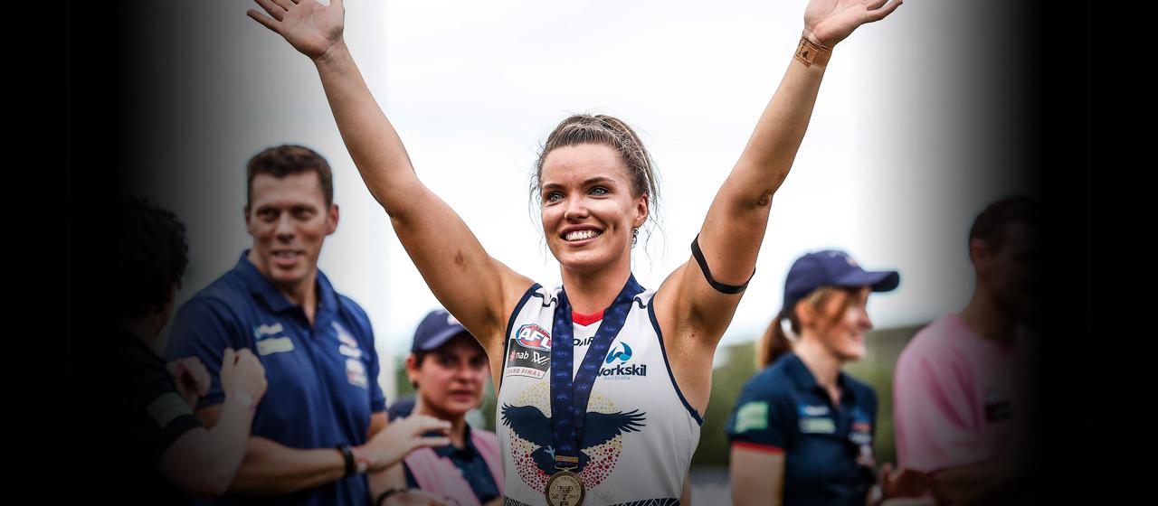 Abbey Holmes - AFL - AthletesVoice
