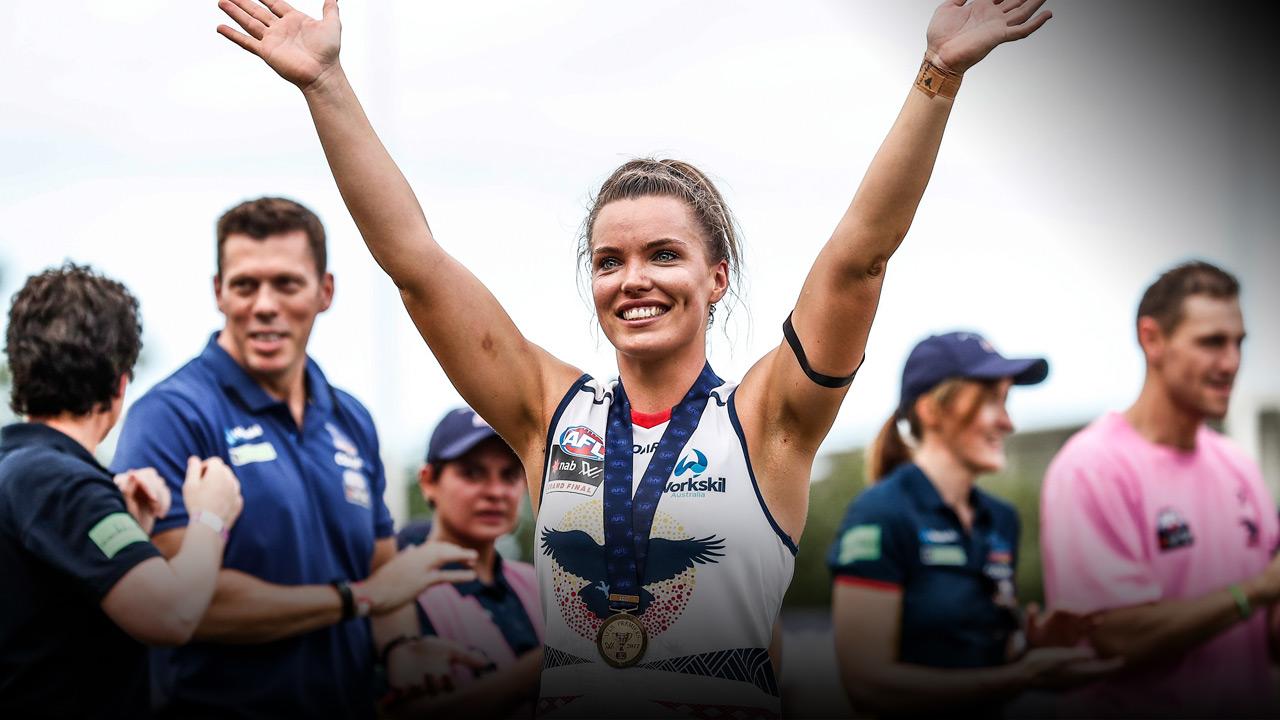 Abbey Holmes - AFL - PlayersVoice