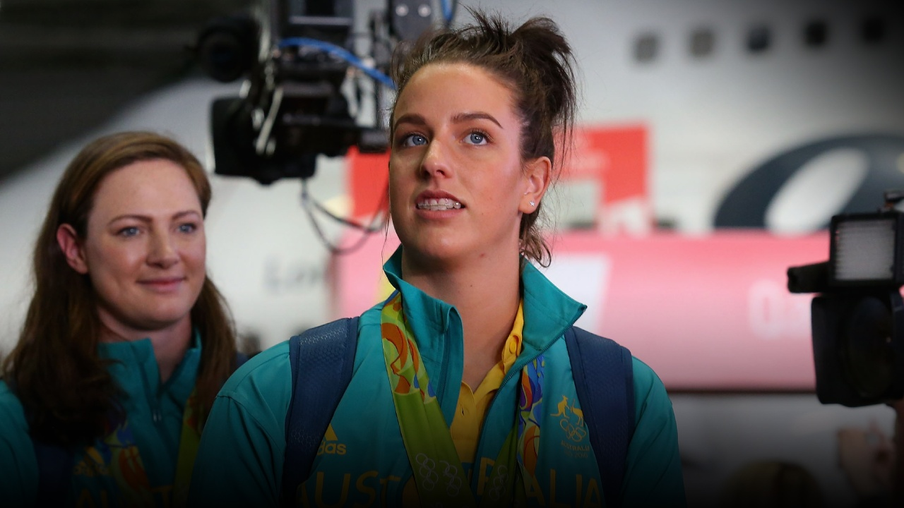Brittany Elmslie - Swimming - PlayersVoice